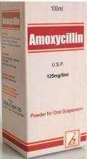 Amoxycillin U.S.P Dry Powder For Oral Syrup