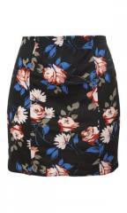 Floral Tube Skirt