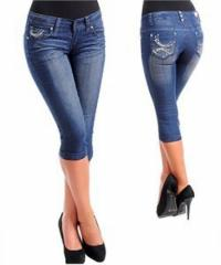 3-Quarter Jeans