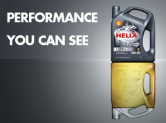 Shell Helix Ultra motor oils