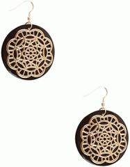 Oriental Flower Earrings