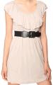 Belted Jersey Knit Dress