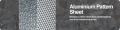 Aluminium Pattern Sheet