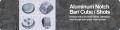 Aluminum Notch Bar/Cube/Shots