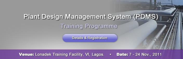 Plant Design Management System Training Program Order In Lagos