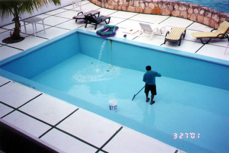 Обеззараживание воды в бассейне своими руками