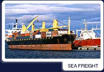 Order Sea Freight Services