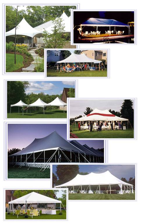 Order Tents & Canopies Hire Services