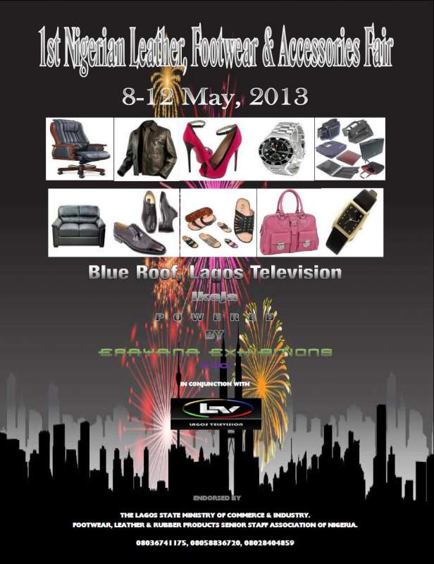 Order 1st Nigerian Leather, Footwear & Accessories Fair
