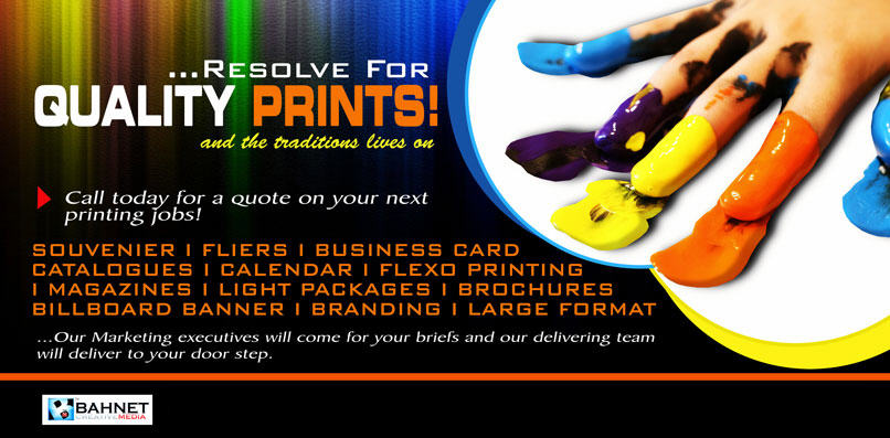Order Print media advertising