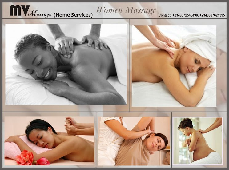 Order Mobile Massage for Men & Women in Lagos