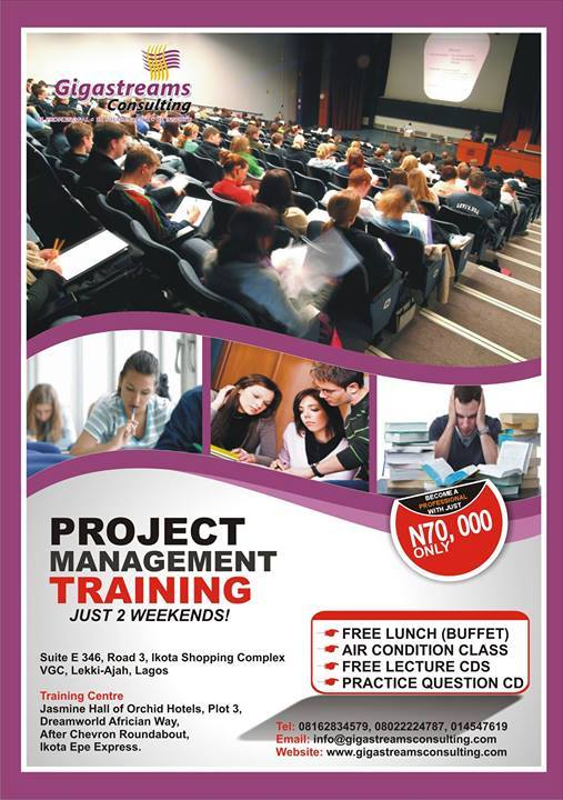 Order Project Management Training in Lagos