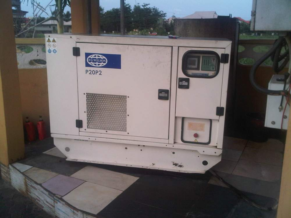 Order Fairly used Diesel Soundproof Generators(13kva-1500kva)