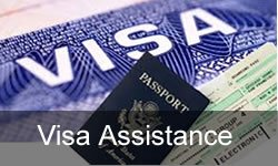 Order Visa Assistance/ Travel Insurance.