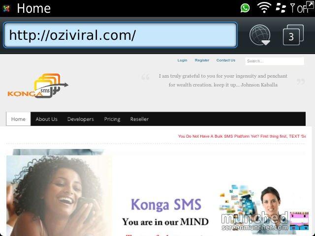 Order Сreation bulk SMS website