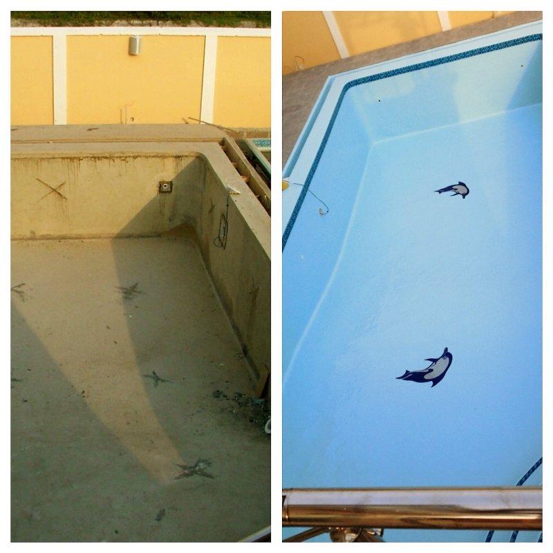 Order Restoration of Concrete Pools
