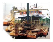 Lift Barges Servicing