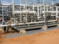 Oil & Gas Construction segment services