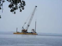 Leasing of marine and construction equipment