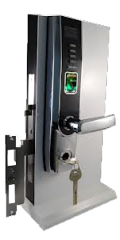 Fingerprint & Keypad Lock