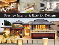 INTERIOR AND EXTERIOR DESIGNS SERVICES