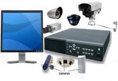 Supply and installation of 4 CCTV Cameras