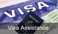 Visa Assistance/ Travel Insurance.