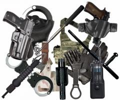 Supply of security and law enforcement equipment