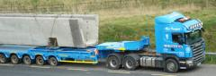 Road haulage services